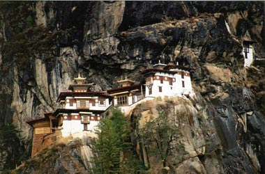 "Taktsang or ""Tiger's Nest""  Monastery"